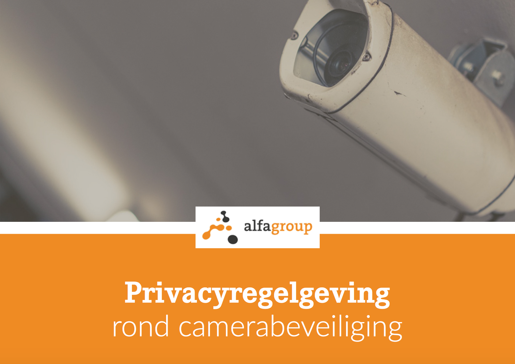 Preview e-book: Privacyregelgeving rond camerabeveiliging